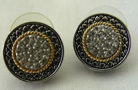 Estate Jewelry Andrea Candela Earrings Sterling