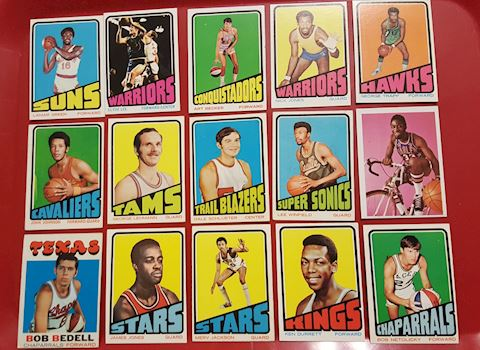 15 Vintage Basketball Sports Cards