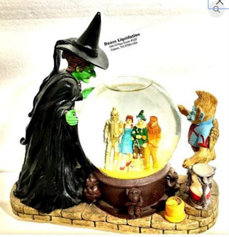 Wizard of OZ Wicked Witch Musical Waterglobe
