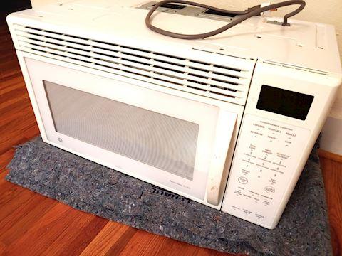 GE Vented Microwave