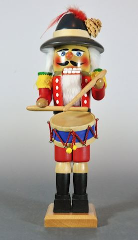 "1980s Steinbach 14"" The Drummer Nutcracker Excelle"
