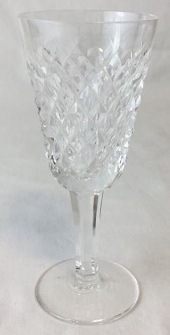 Waterford crystal wine glass diamond pattern 80S24