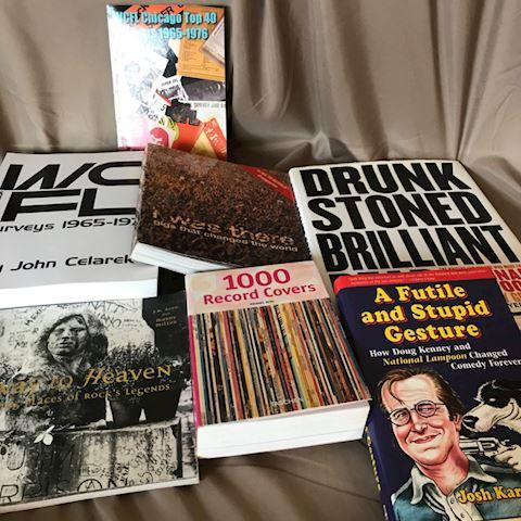 WCFL , Music/ books