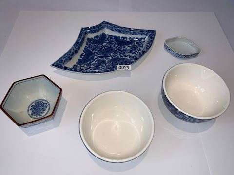 0029 Assorted high and low end porcelain china