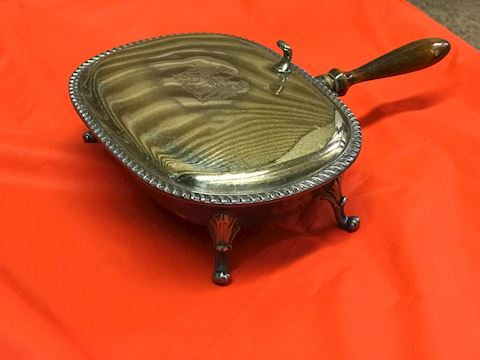 Vintage Silver Plated Table ButlerCrumb Collector