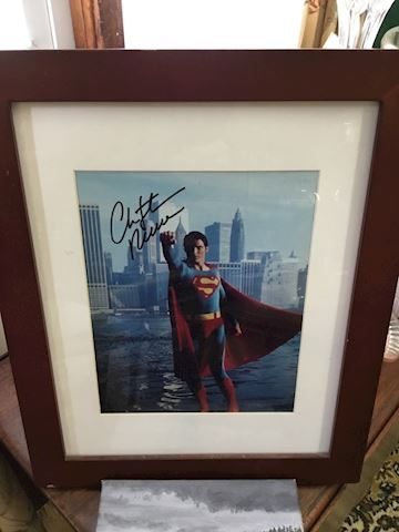 Signed Christopher Reeves