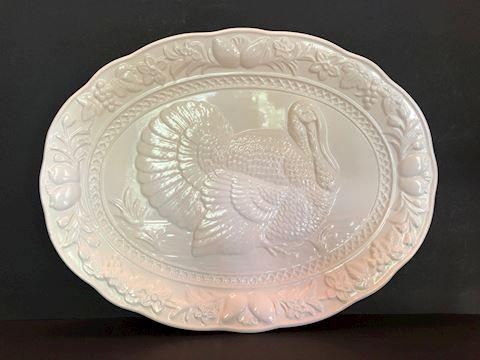 Vintage Turkey Platter by Signature