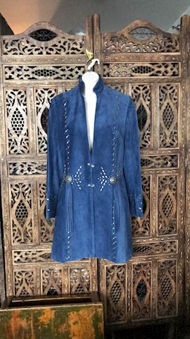 LE made 2Order Renegade Spirit Leather Coat Sz S