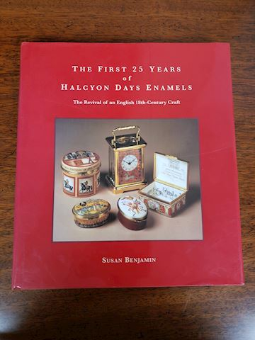 THE FIRST 25 YEARS OF HALCYON DAYS ENAMELS  BOOK