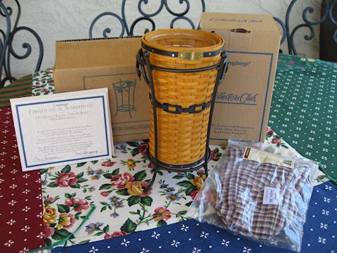 2003-2004 JW Miniature Umbrella Basket