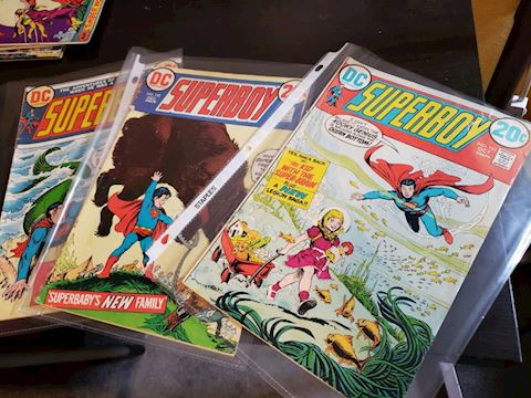 DC Superboy issues  191, 192, 194.