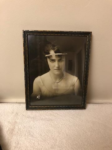 Antique framed photos
