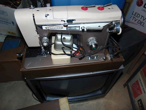 Rare Vintage Sewing Machine