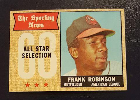 1968 Frank Robinson Baseball Card #373