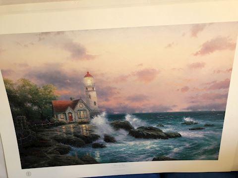 Beacon of Hope, Seaside Memories by Thomas Kinkade