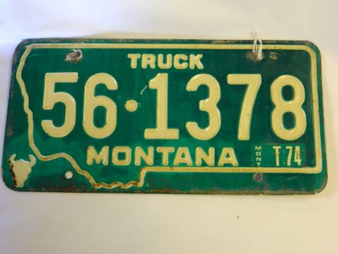 1974 MT Plate