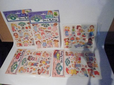 Cabbage Patch Stickers