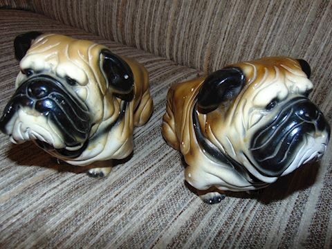 Vintage Ceramic Dog Banks