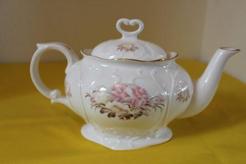 Staffordshire Royal Park Porcelain Teapot