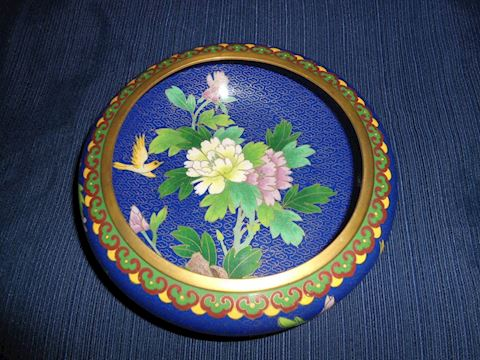 Vintage Cloisonne Bowl