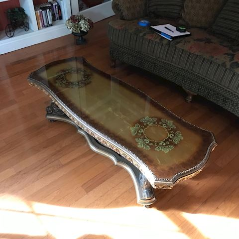 Antique Formal Coffee Table