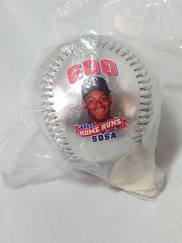 Sammy Sosa 600 Homerun Collector Baseball