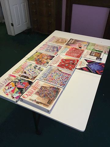 #13 Quilt Lovers Favorite Hard B Books + Extra's