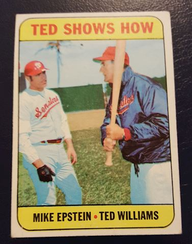 1969 Ted Williams Baseball Card #539