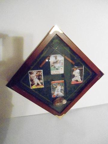 Sports Card Wall Display