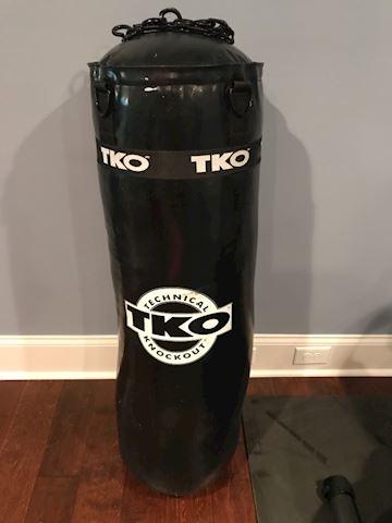 TKO 80 pound punching bag
