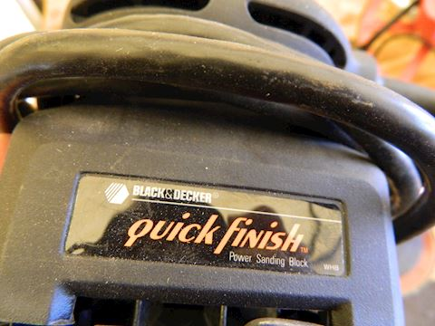 Quick Finish Power Sander