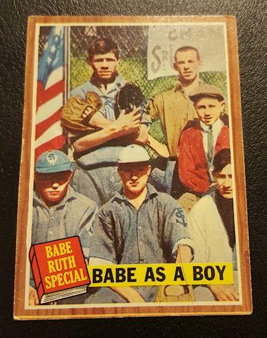 Vintage 1962  Babe Ruth Baseball Card #135