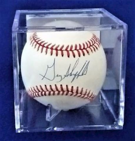 Gary Sheffield Autographed Base Ball