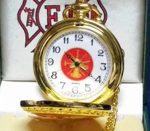 Watch-Pocket With Chain FireDept.