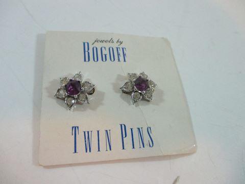 """Original Bogoff Twin Pins NRFP 1"""""""