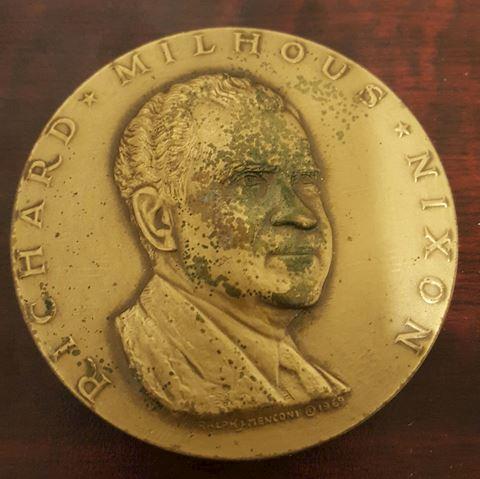 Vintage 1969 Richard Nixon Commemorative Coin
