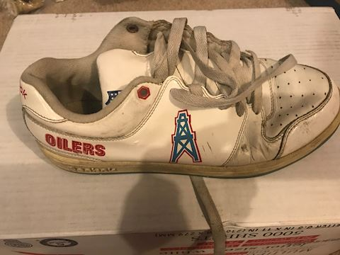Houston Oilers Tennis shoe (only one of them)