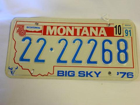 76 plate/91 sticker MT