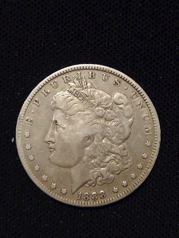 1- 1888(o) Morgan Silver Dollar