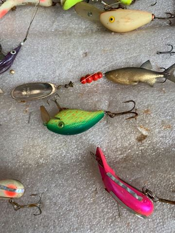 Vintage fishing Lures