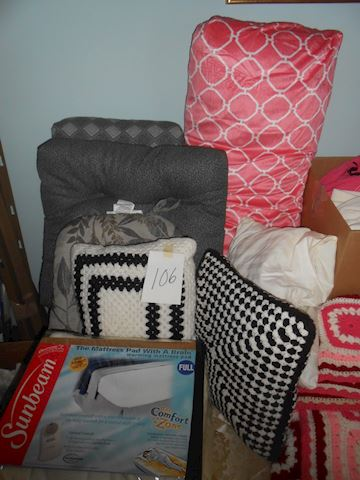 Lot #106 Pillows