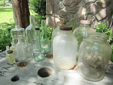 Vintage Jugs, Bottles & Gallon Jars, Lot of 13