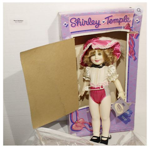 Vintage Shirley Temple Doll w/ Original Box