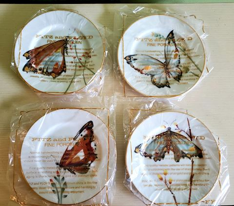 Fitz & Floyd Butterfly Plates
