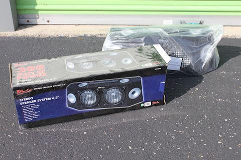 BLG Stereo Speaker System