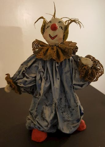 Large Clown Figurine
