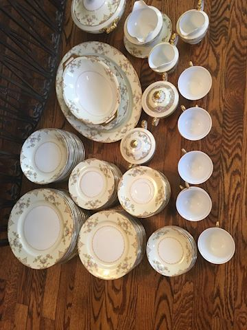 Set of Mieto Vintage China