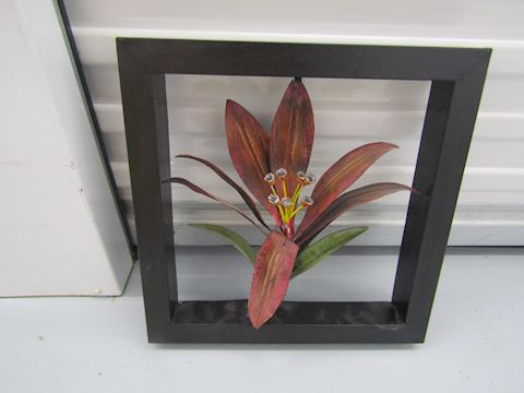 Modern floral art picture