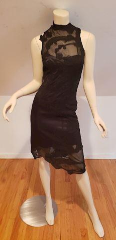 Exquisite Karen Millen England Ricamo silk dress