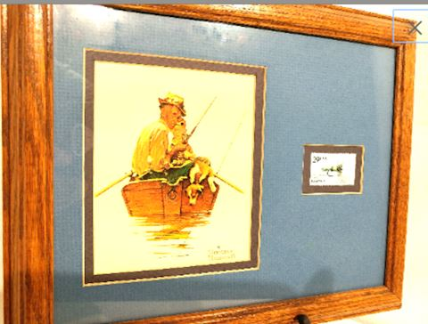 Norman Rockwell Fishing